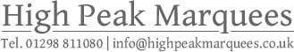 High Peak Marquees